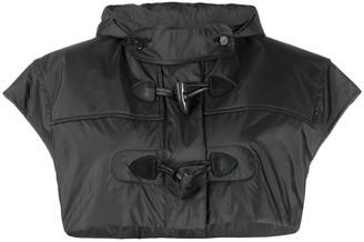 Maison Margiela Cropped Hooded Jacket