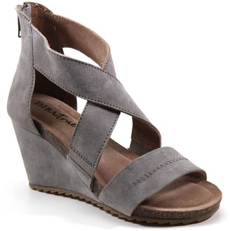 Diba True Ultra-Padded Wedge Sandals - New Comer