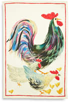 Sur La Table Rooster Linen Kitchen Towel