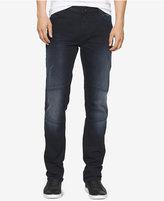 Calvin Klein Jeans Men's Straight-Leg Moto Jeans