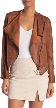 Blanknyc Denim Faux Leather Jacket