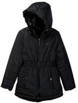 DKNY Reversible Hi-Low Faux Fur Jacket (Big Girls)