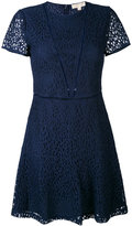 MICHAEL Michael Kors flared lace dress - women - Cotton/Polyamide/Viscose - 10