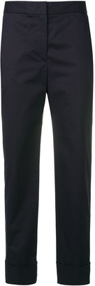 Pt01 Blue Cropped Trousers