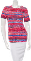 Tory Burch Printed Short Sleeve Top w/ Tags