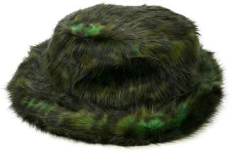 Opening Ceremony leopard faux fur hat