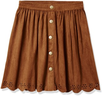 RED WAGON Girl's Suedette Skirt
