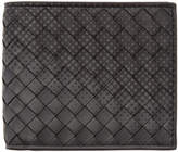 Bottega Veneta Black Intrecciato Galaxy Wallet