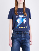 Fiorucci Electric muse cotton-jersey T-shirt