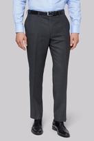 Savoy Taylors Guild Regular Fit Charcoal Birdseye Pants