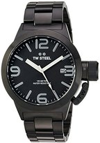 TW Steel Men's CB211 Analog Display Quartz Black Watch