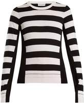 Sonia Rykiel Wide-striped wool-knit sweater