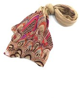 Urban Originals Women's Feather Print Scarf