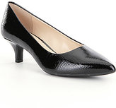 Alex Marie Zhoey Snake Pointed-Toe Pumps