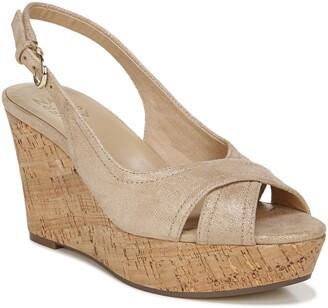 Naturalizer Zander Slingback Platform Wedge Sandal