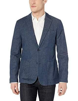 Perry Ellis Men's Slim Fit Stretch Linen Suit Jacket