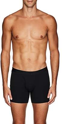Derek Rose Men's Alex Stretch-Jersey Boxer Briefs - Black