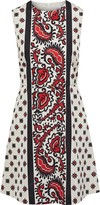 RED Valentino Printed Shell Mini Dress