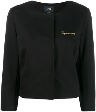 Class Roberto Cavalli Cropped Jacket