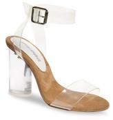 Jeffrey Campbell Women's Clear Heel Sandal