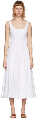 STAUD White Wells Dress