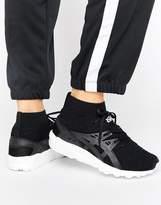 Asics Knit Mid Gel-Kayano Sneakers In Black