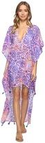 Bindya Paisley High-Low Dress