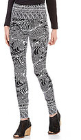 Westbound the PARK AVE fit Printed Legging