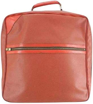 Louis Vuitton Red Leather Travel bags