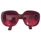Miu Miu Burgundy Sunglasses