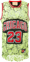 Night Market - lace insert Chicago jersey - women - Polyester - One Size