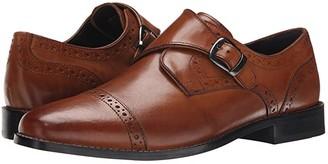 Nunn Bush Newton Cap Toe Dress Casual Monk Strap (Black) Men's Monkstrap Shoes