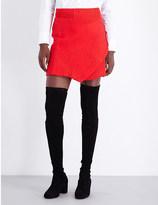 Maje Jario woven skirt