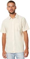 Vans Pilgrim Mens Ss Mens Shirt White