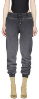 Yeezy Black Panelled Sweatpants