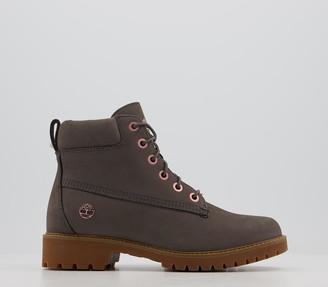 Timberland Slim Premium 6 Inch Boots Eiffel Tower Nubuck