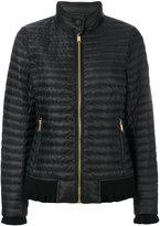 MICHAEL Michael Kors padded jacket - women - Feather Down/Nylon/Polyester/Viscose - XS
