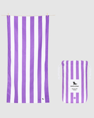 Dock & Bay Large Beach Towel 100% Recycled Cabana Collection