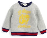 Gucci Infant Boy's Web Tiger Graphic Sweatshirt