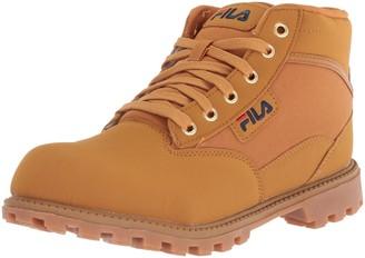 Fila Men's Grunge 17 Fashion Boot Wheat Navy red 8 Medium US