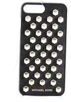 Michael Kors Black Geometric Studded Iphone 7 Plus Snap On Case