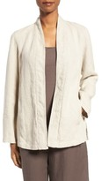 Eileen Fisher Women's Organic Linen Kimono Jacket