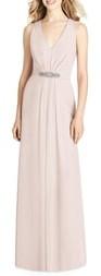 Jenny Packham Jewel Belt Chiffon Gown