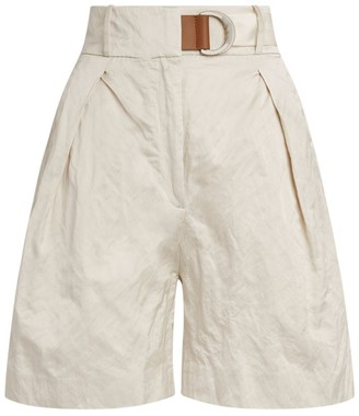 Fabiana Filippi High-Waist Bermuda Shorts