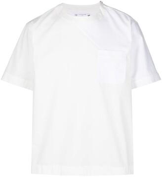 Sacai chest pocket cotton T-shirt