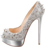 Christian Louboutin Very Mix Strass 150 Pumps