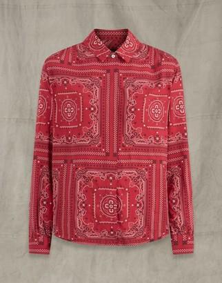 Belstaff Esmie Shirt Red UK 8 /