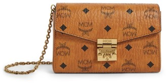 MCM Small Visetos Millie Cross Body Bag