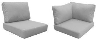Tegan Sol 72 Outdoor Indoor/Outdoor Cushion Cover Sol 72 Outdoor Fabric: Gray