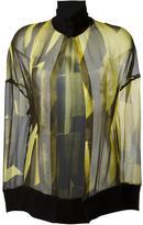 Ann Demeulemeester high collar 'Radiant' blouse